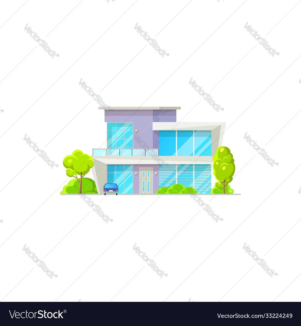 House building isolated patio facade exterior