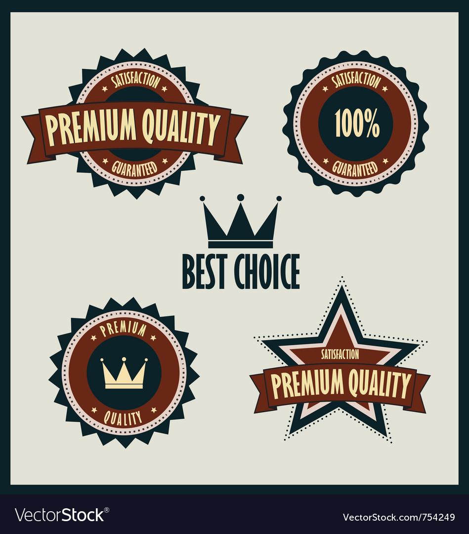 Premium quality labels best choice