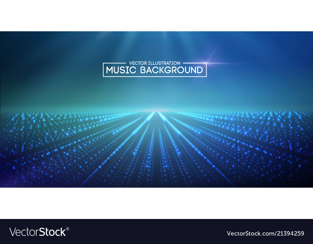 Music abstract background blue eps10