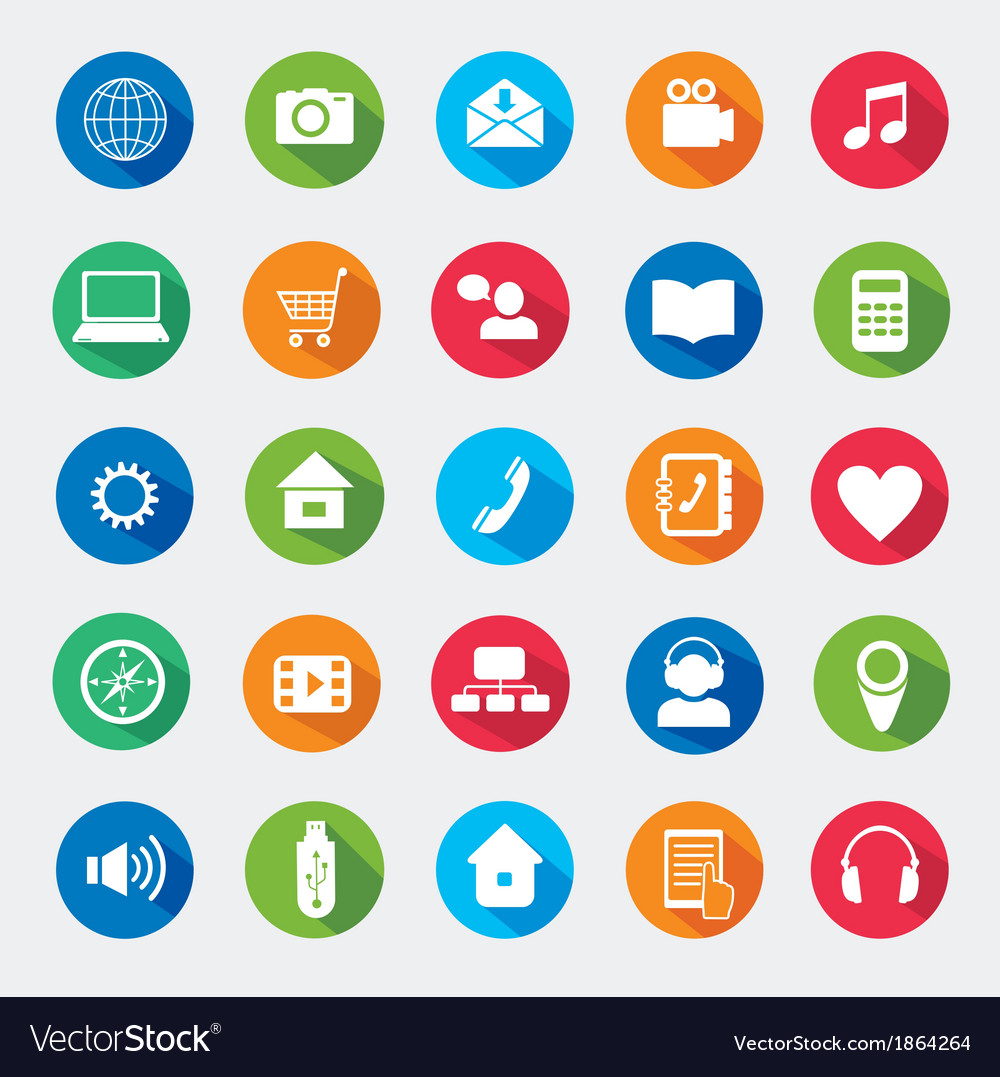 Modern media design elements