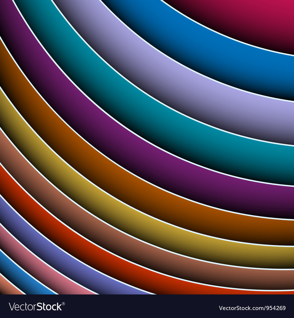 Abstract background of colorful lines