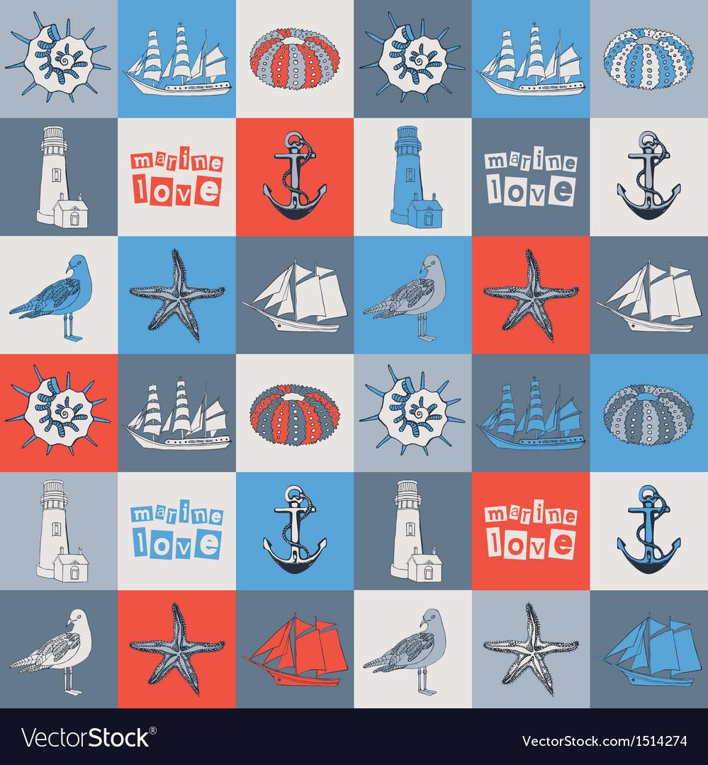 Sea love card