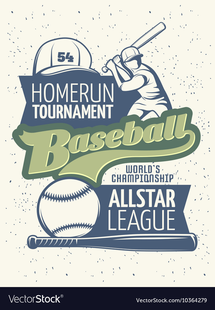 Baseball Tournament Print
