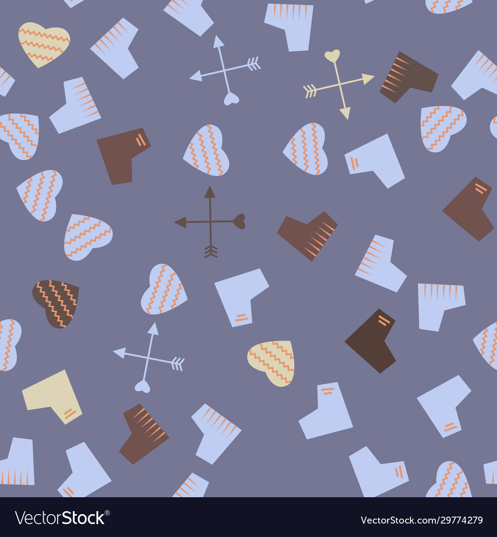 Hearts pattern on a background