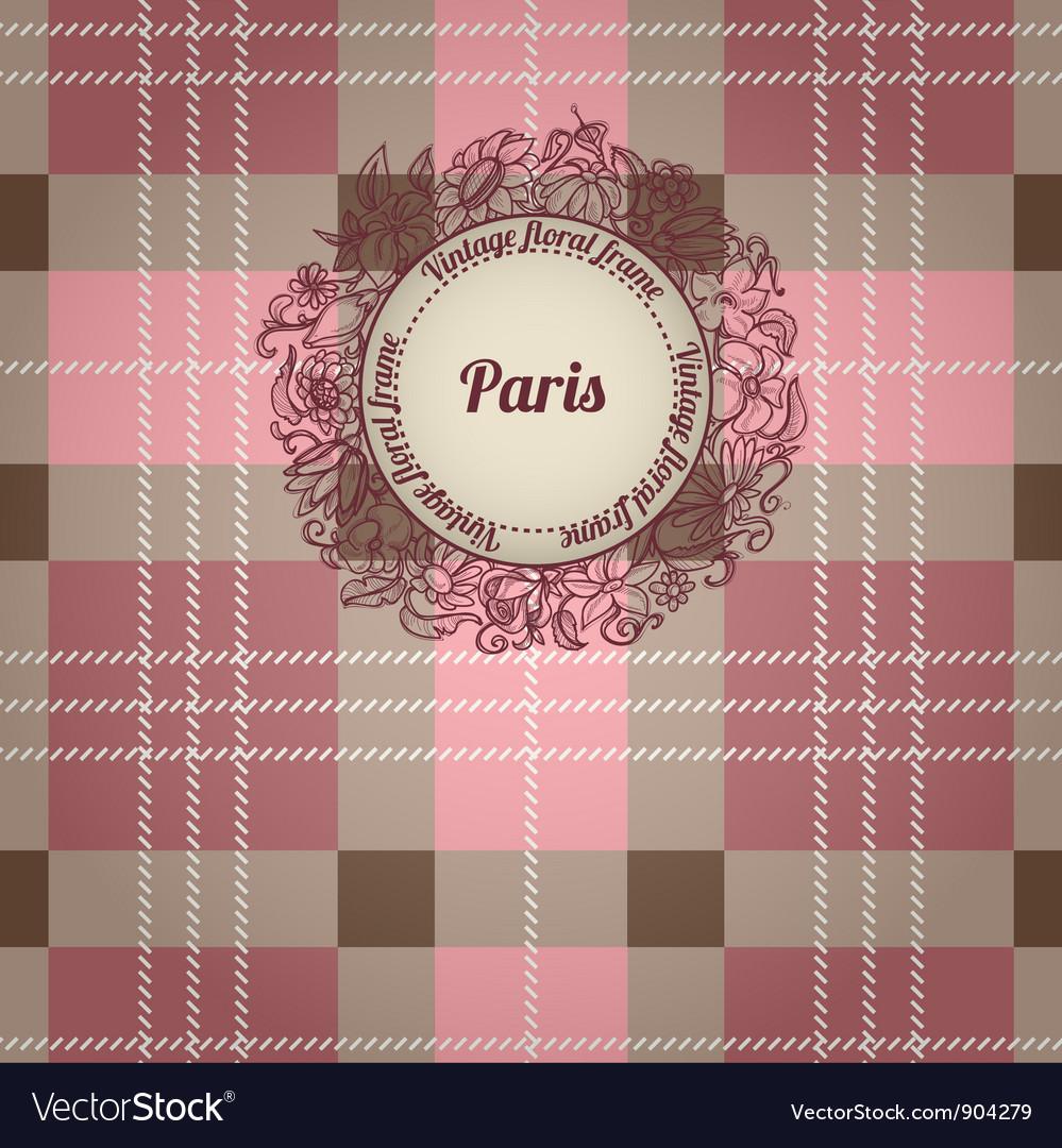 Vintage paris background