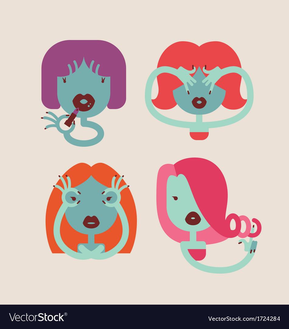 Cute monster girls