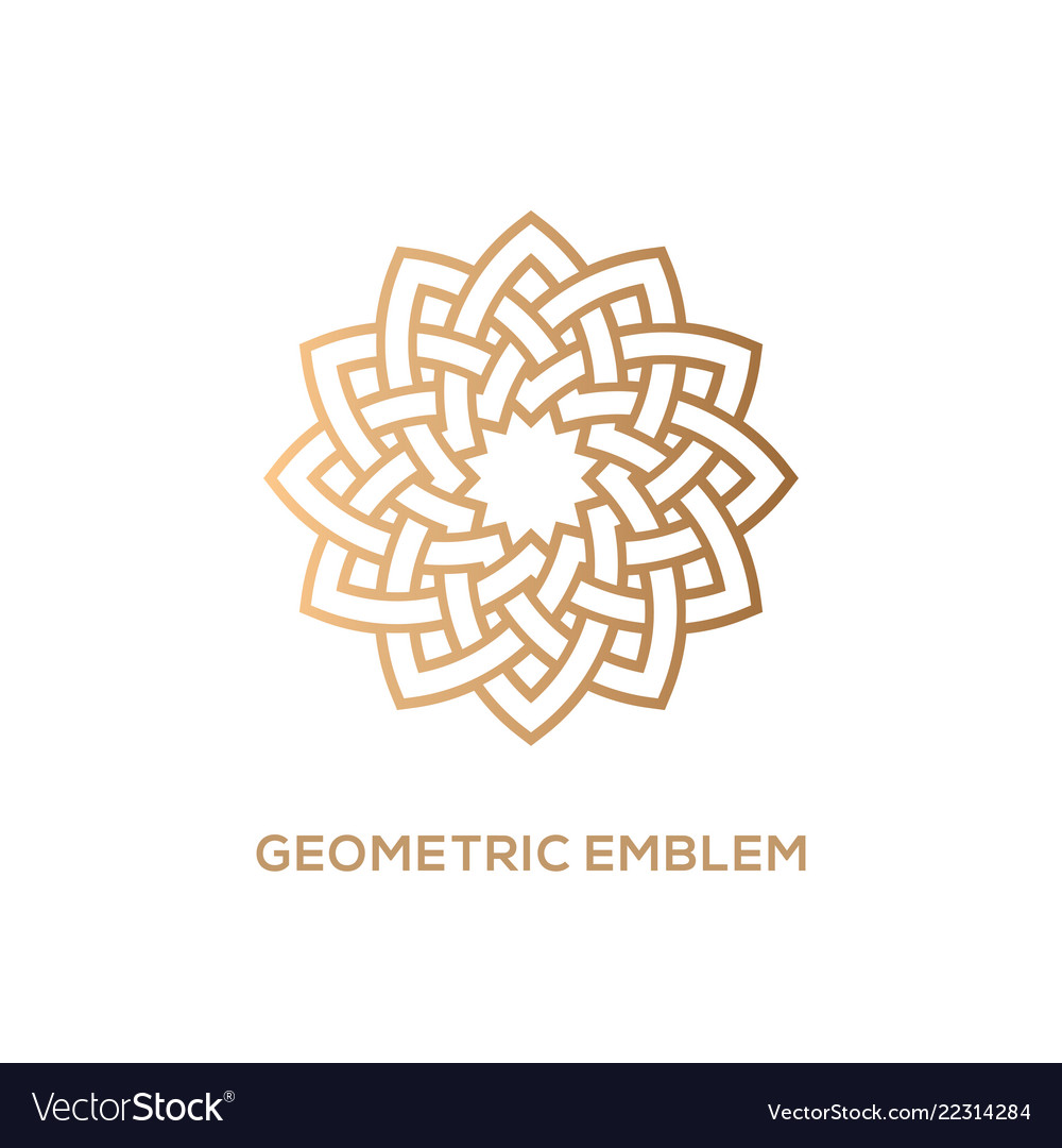 Geometric emblem