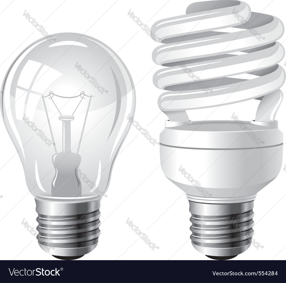 incandescent  fluorescent