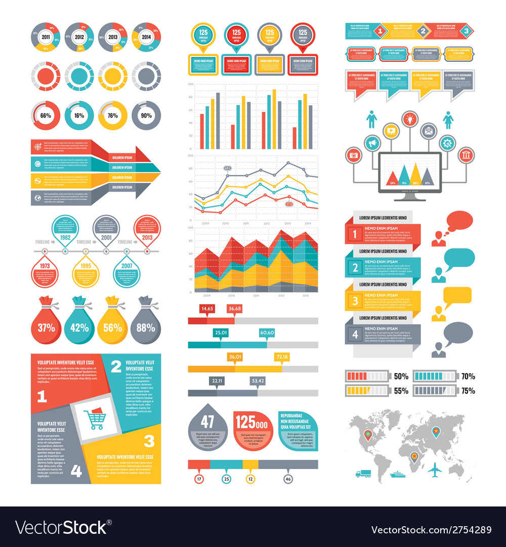 Infographic Elements Collection - Business