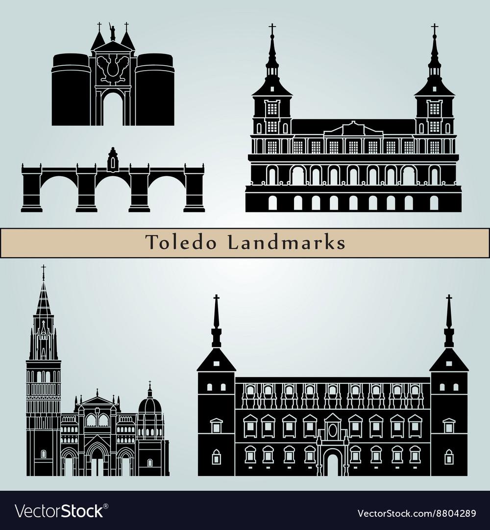 Toledo landmarks and monuments