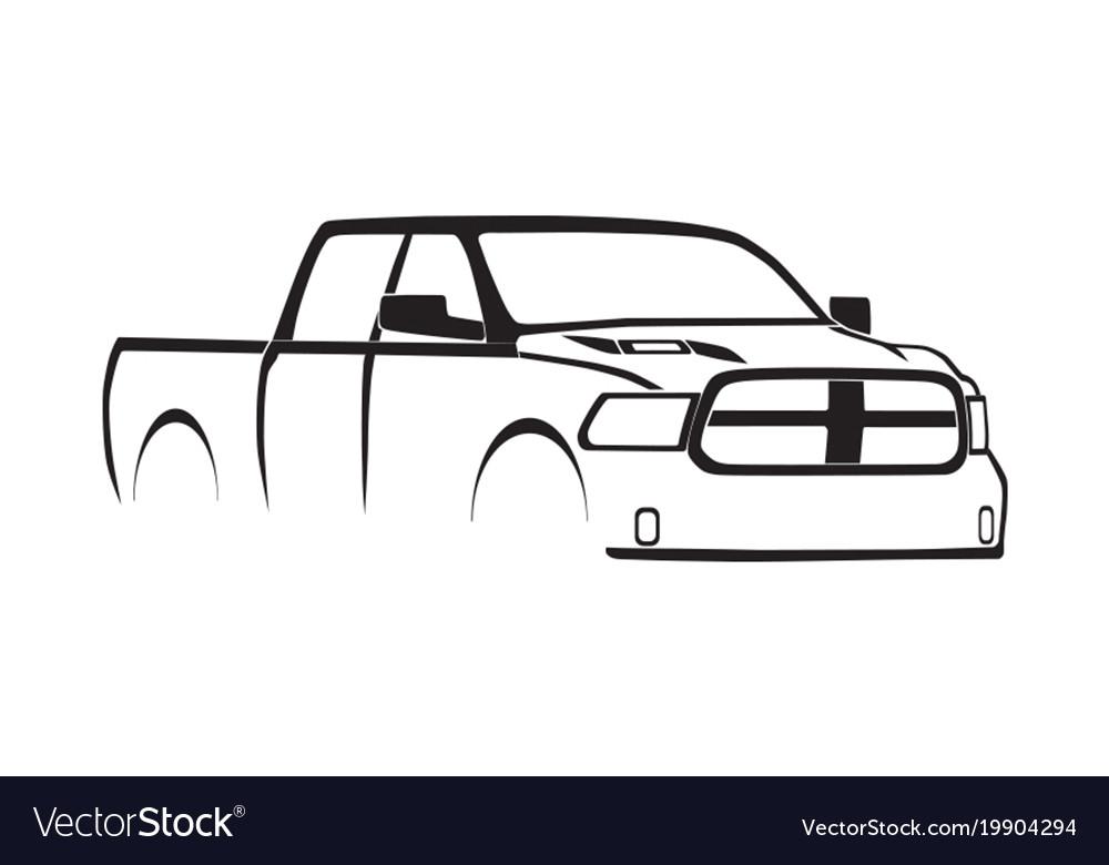 4th gen ram crew cab sport hood silhouette
