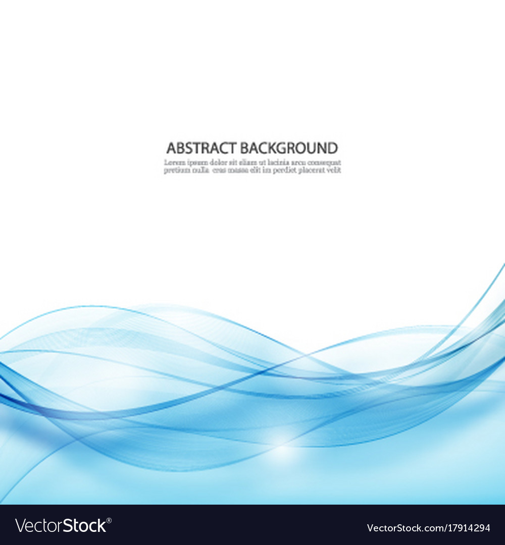Abstract backgroundblue abstract wave vector image