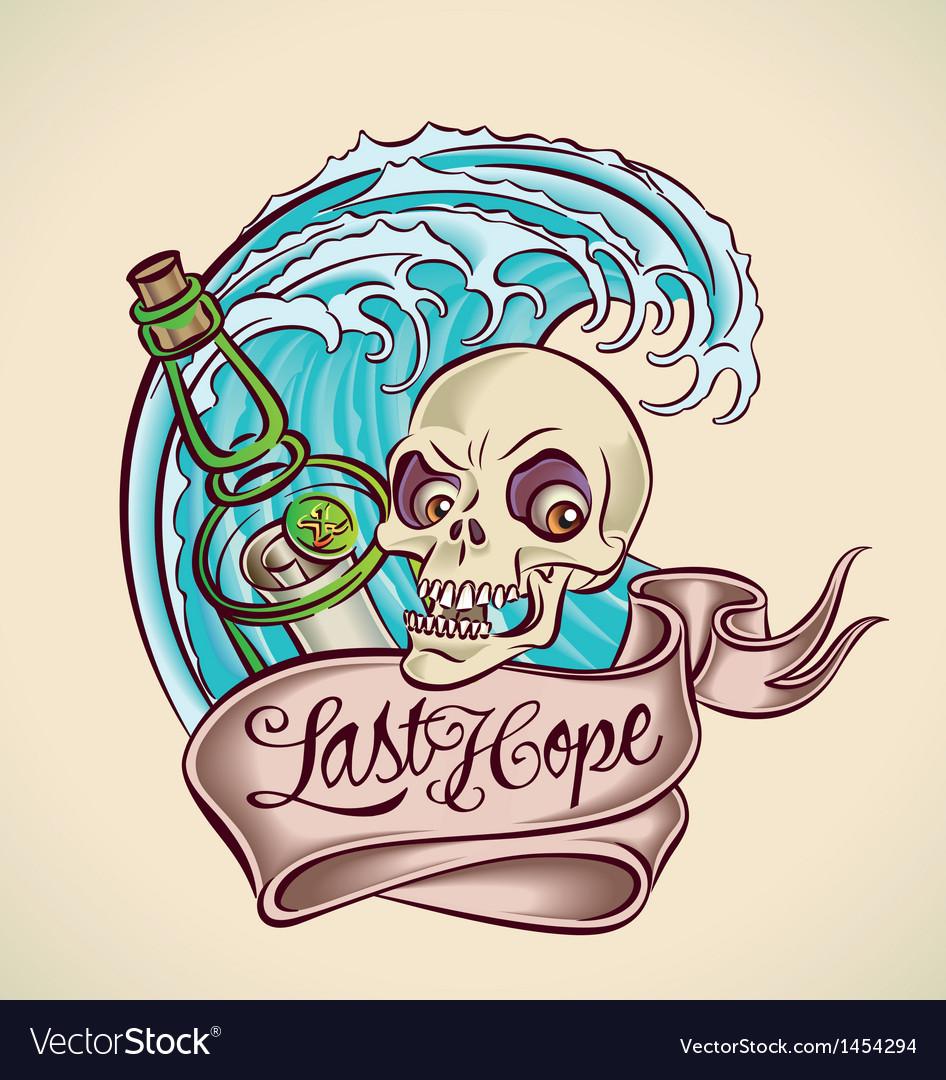 Last Hope - sailors tattoo design