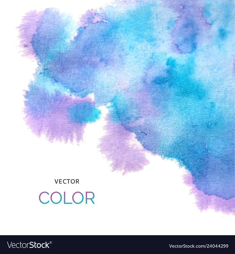Abstract colorful background brush paint blue and