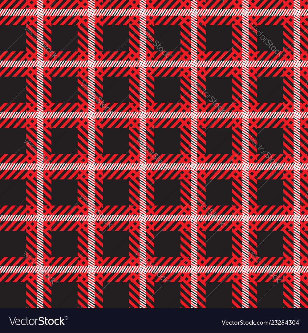 Seamless tartan pattern checkered plaid
