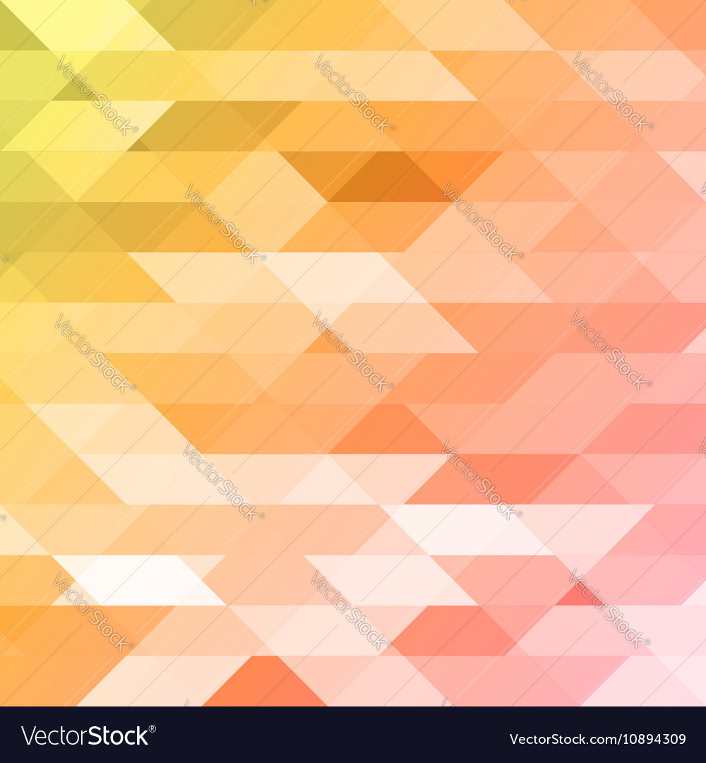 Colorful pink orange green polygonal background