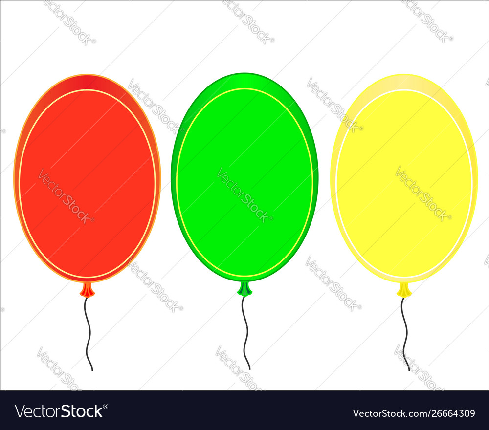 Infographic design template balloons