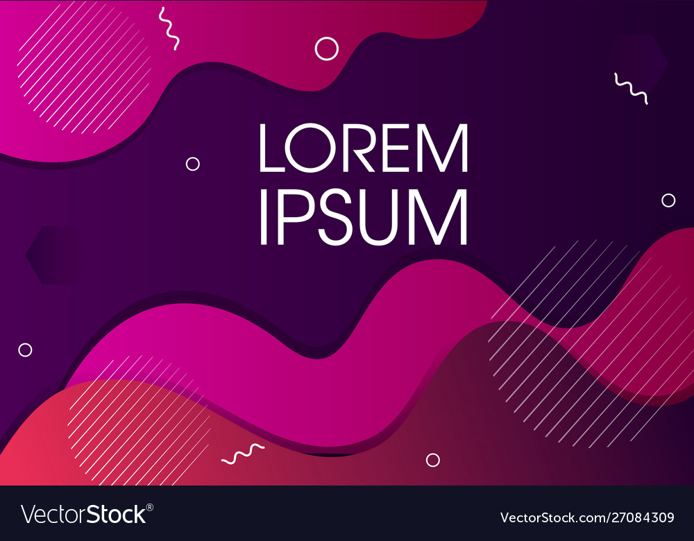 Modern abstract background design