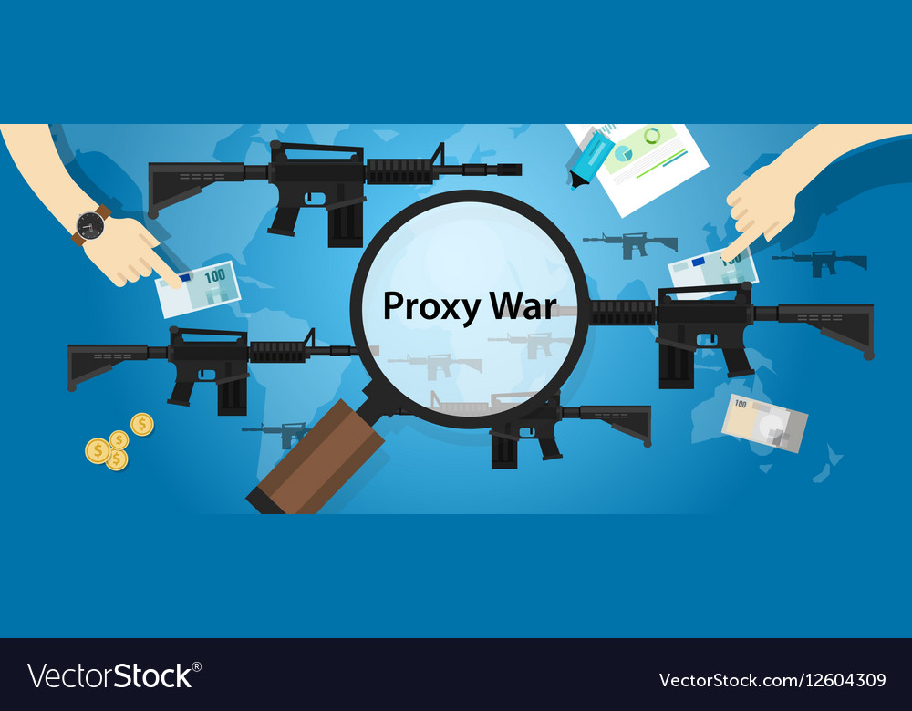 Proxy war arms conflict world international