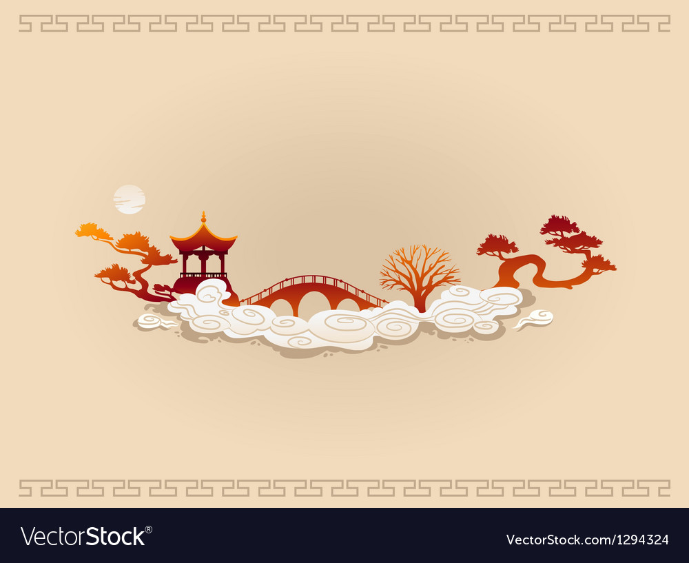 Abstract Chinese Background