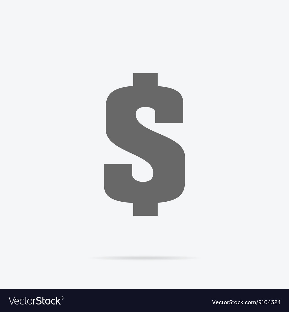 Dollar Sign Icon vector image