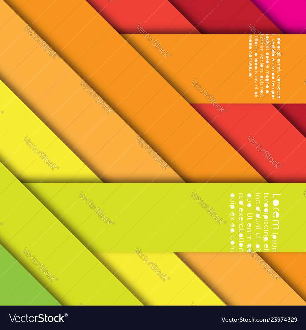 Abstract background with stripes and shadows