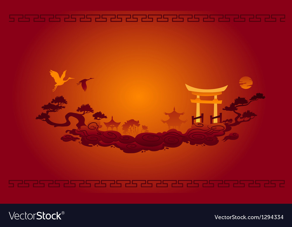 Abstract of Chinese Background