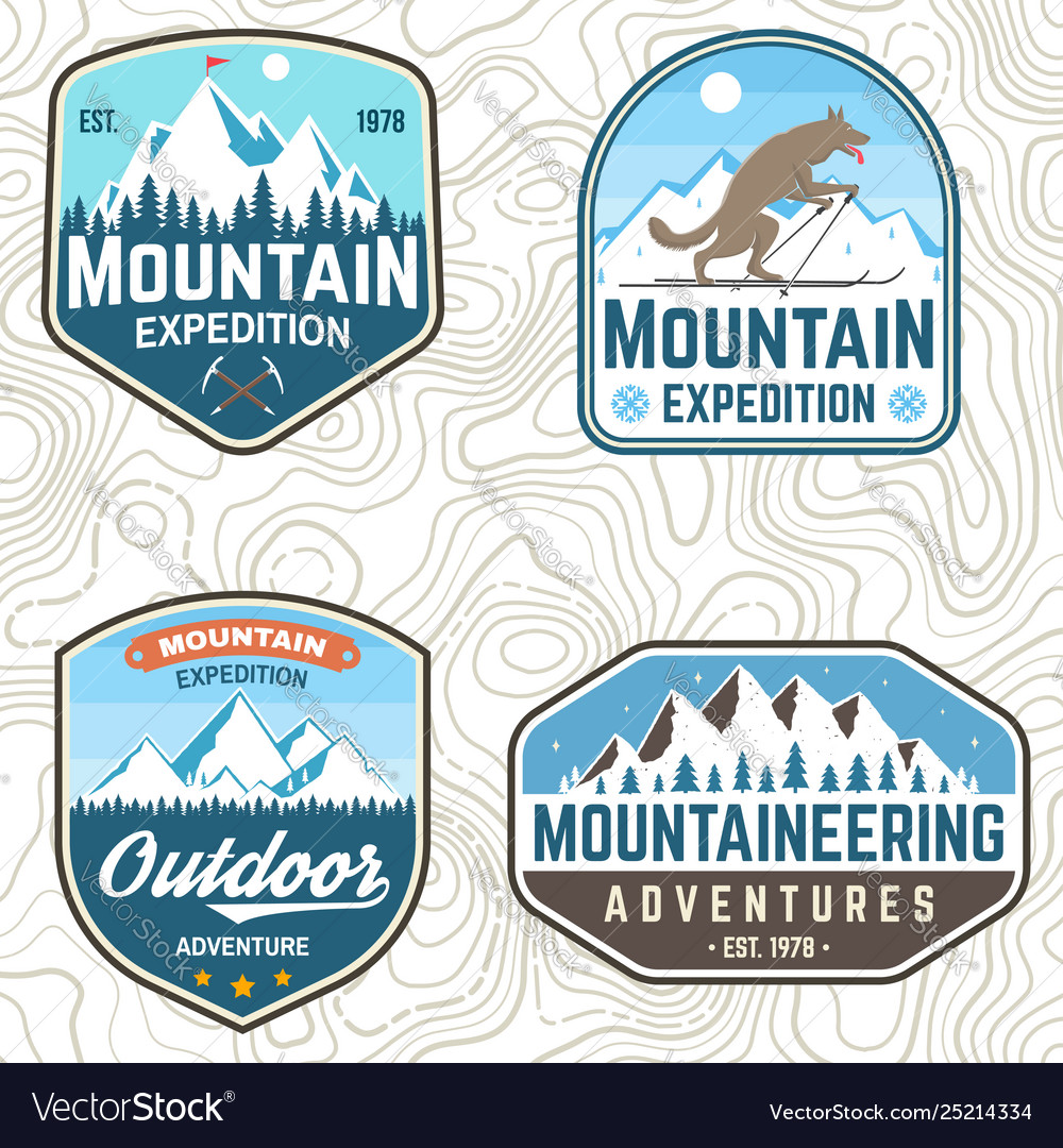 Set mountain expedition patches