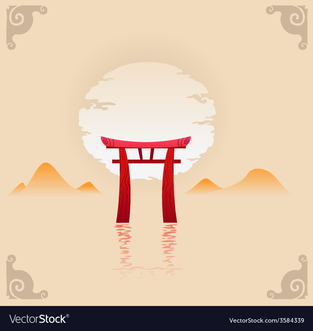 Abstract japan background