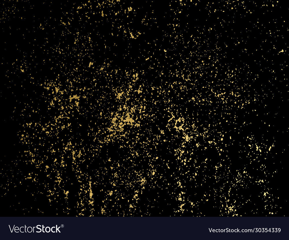 Gold glitter particles background for luxury