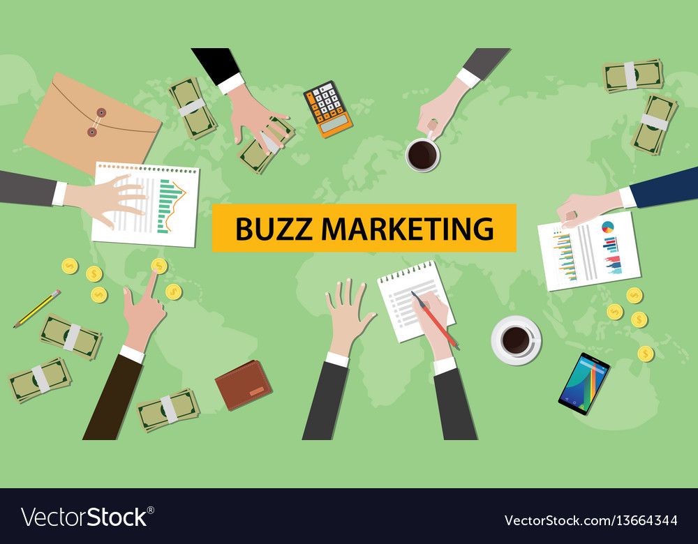 Buzz marketing discussion in a