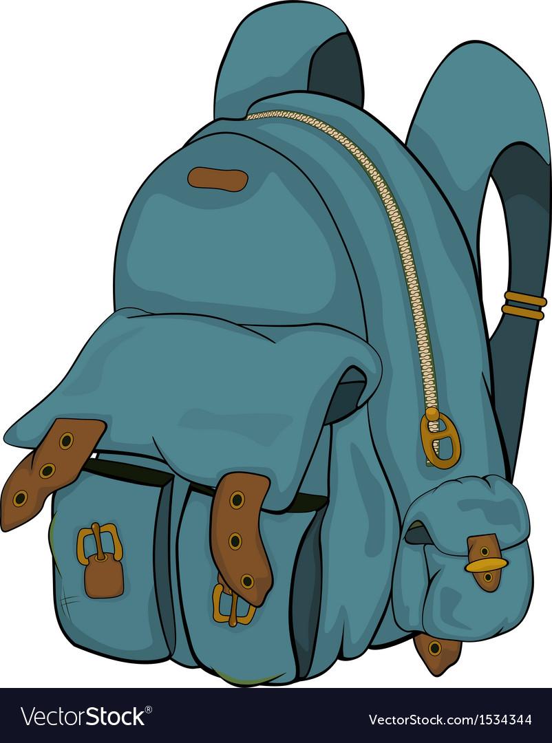 School backpack Cartoon