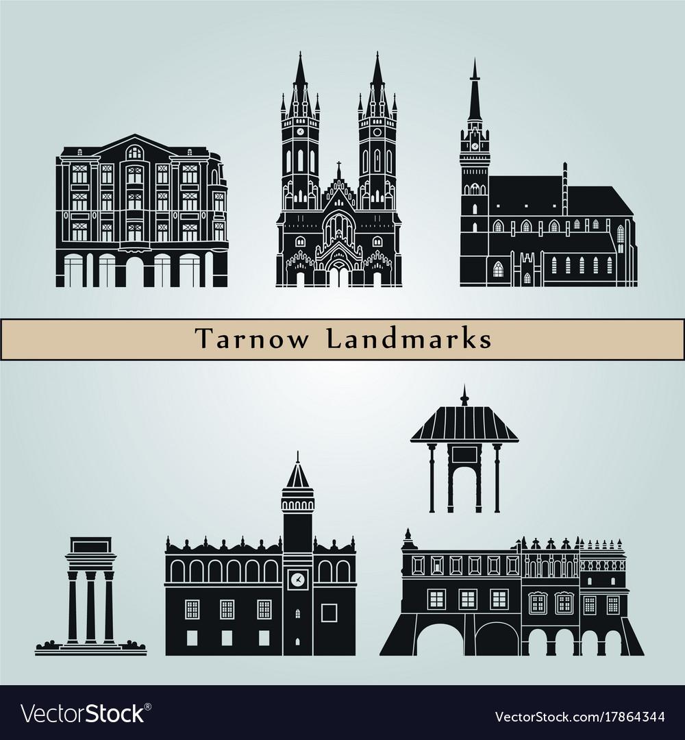 Tarnow landmarks