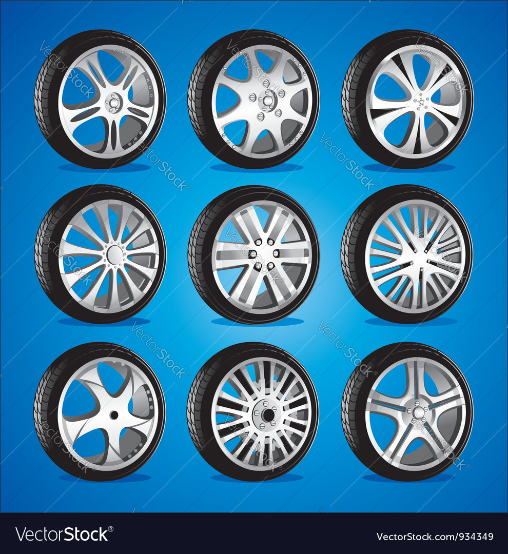 Automotive wheel with alloy wheels and low profile