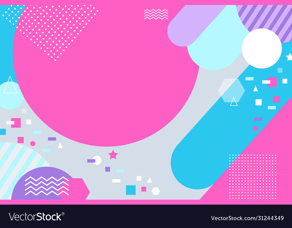 Geometric abstract background brochure background