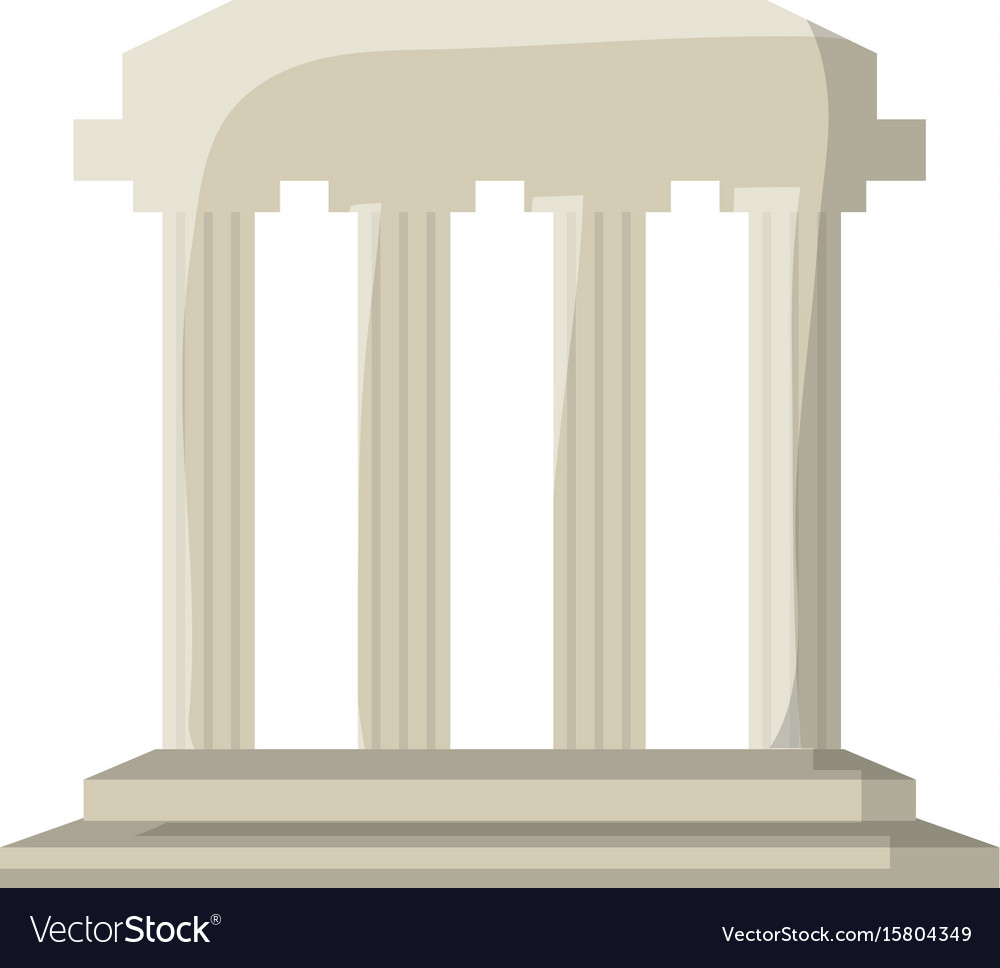 Roman colums building