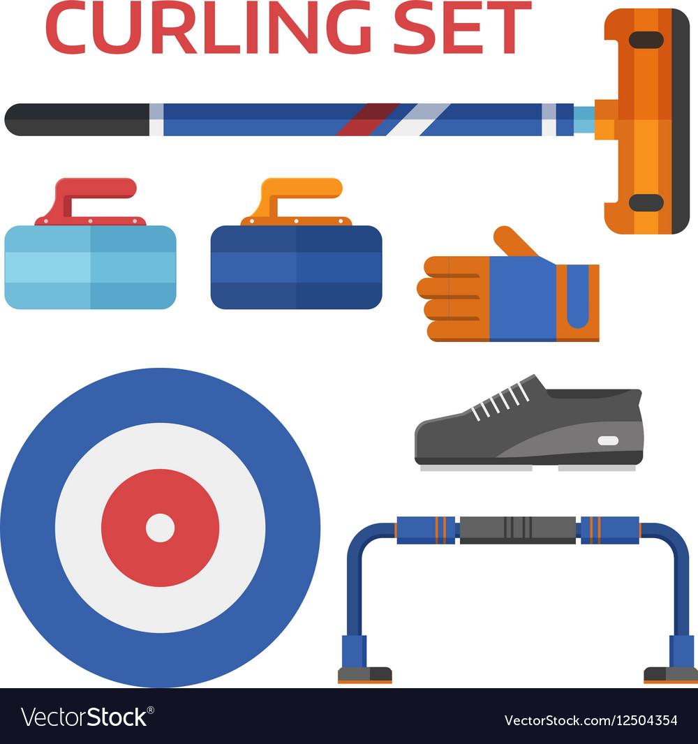 Curling Equipment Set