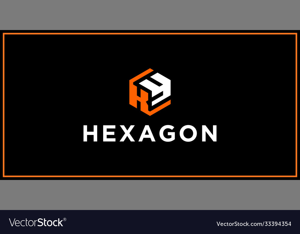 Ky hexagon logo design inspiration