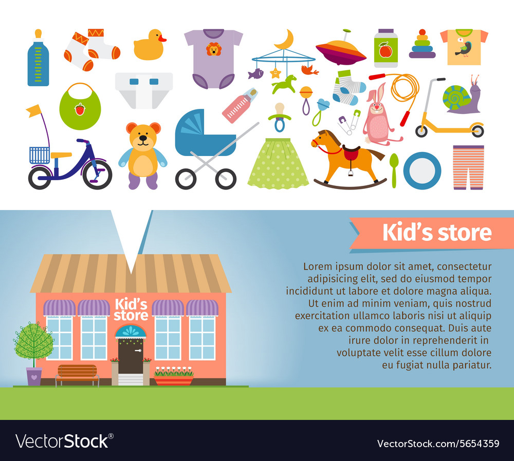 Kids shop Childrens clothing and toys