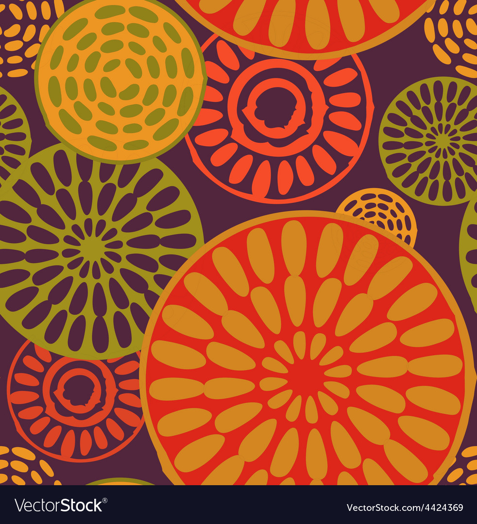 Tribal African simple seamless pattern