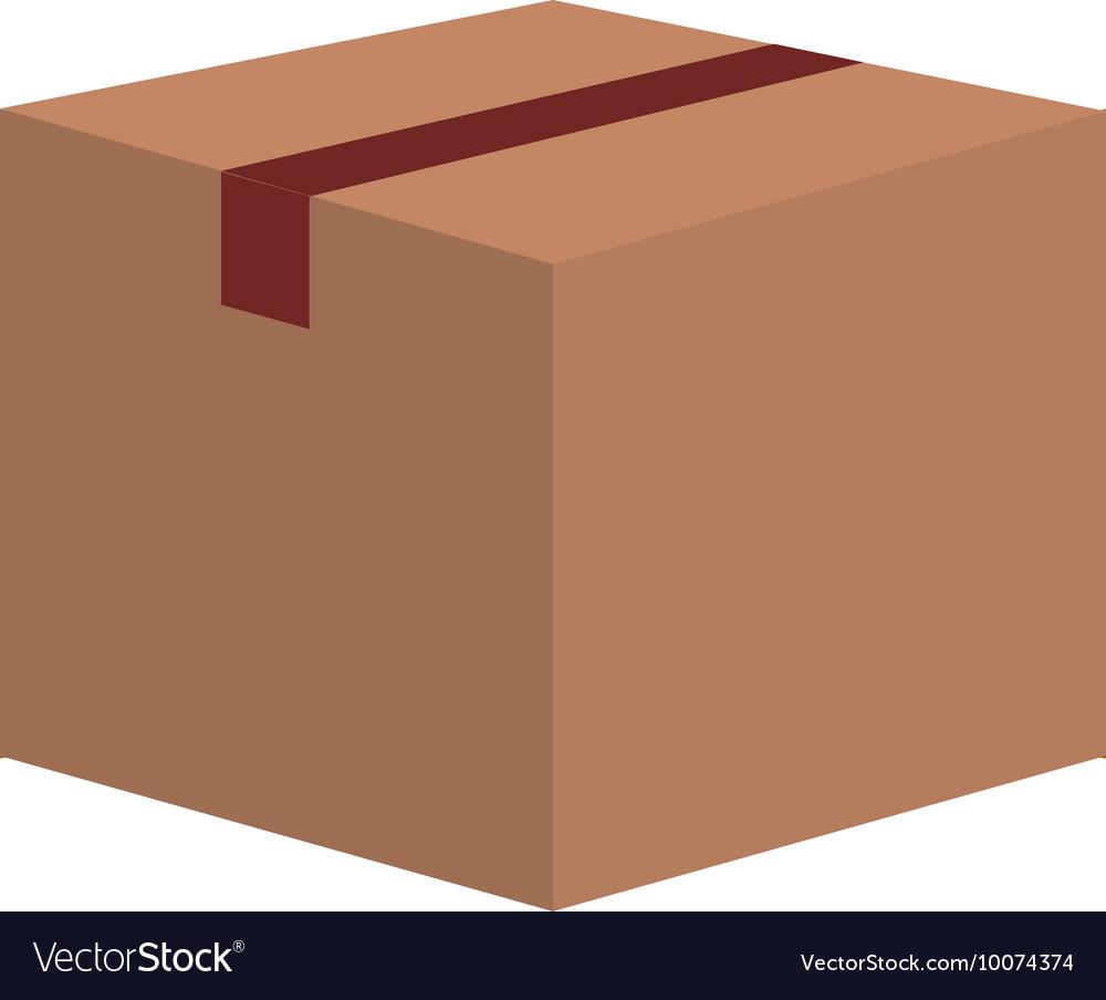 Box carton packing icon
