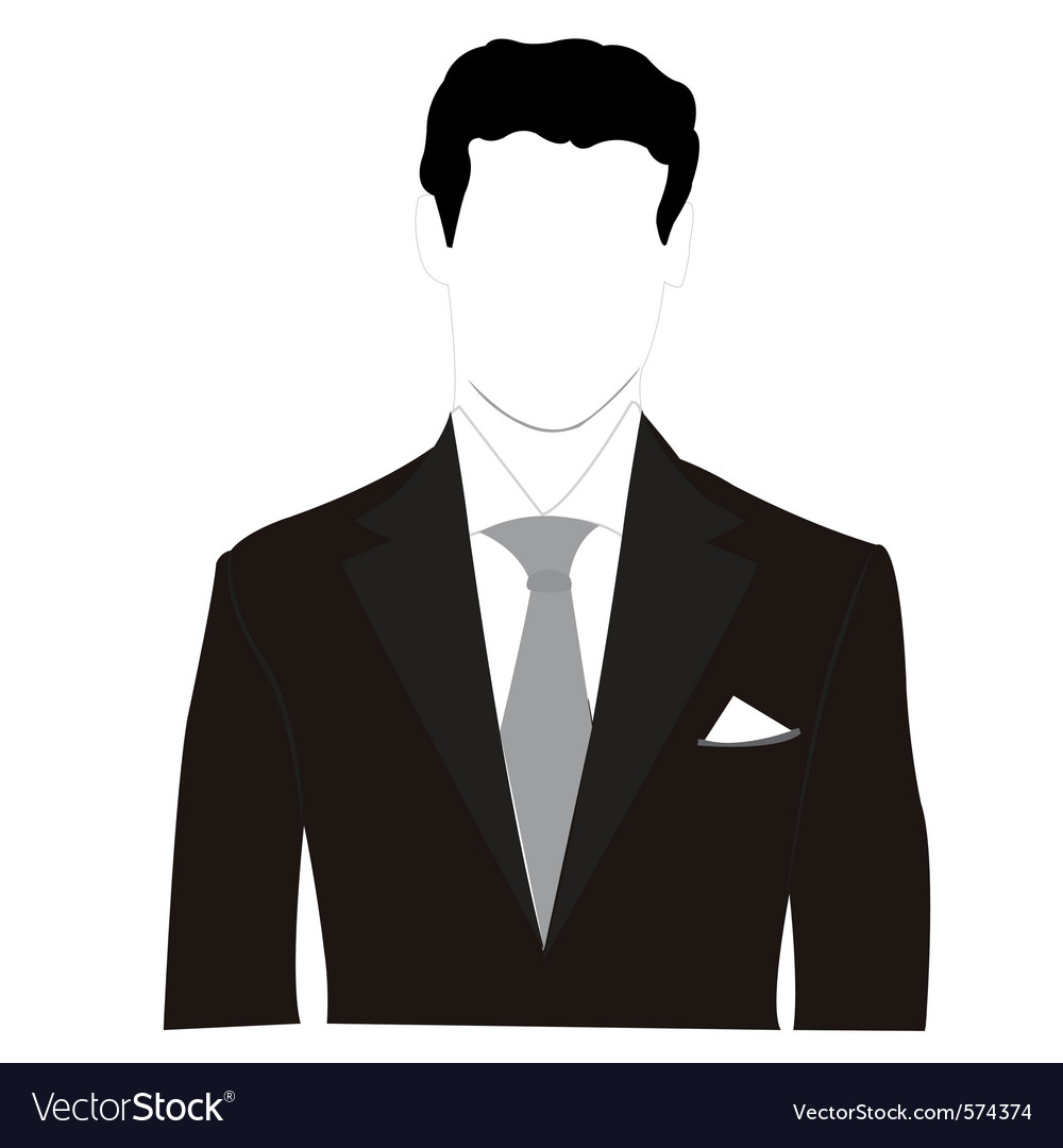 Business Man Silhouette Royalty Free Vector Image Find the best free stock images about male silhouette. vectorstock