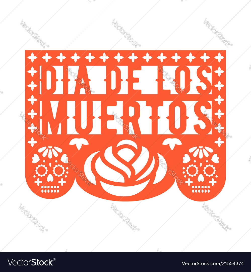 Papel picado mexican paper decorations for party