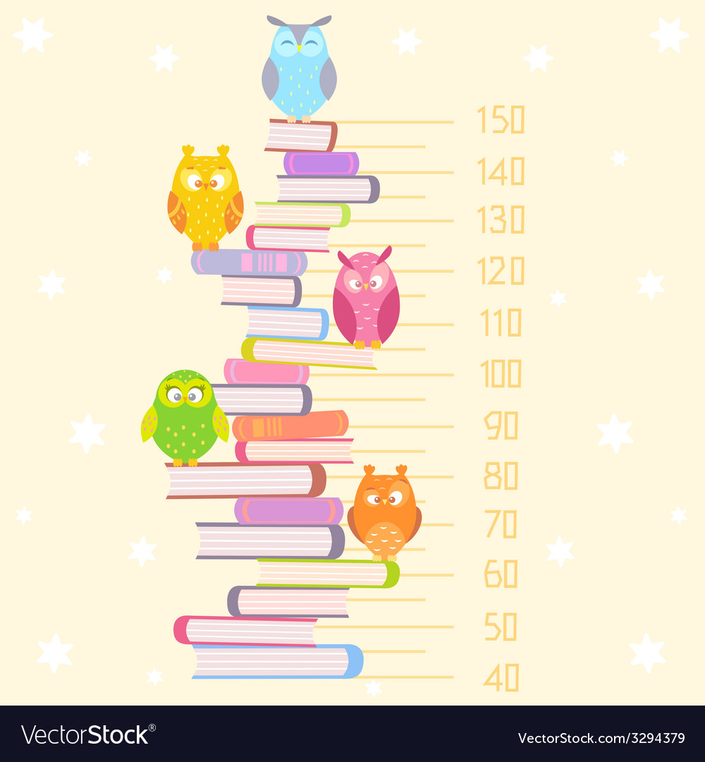 Owls on books