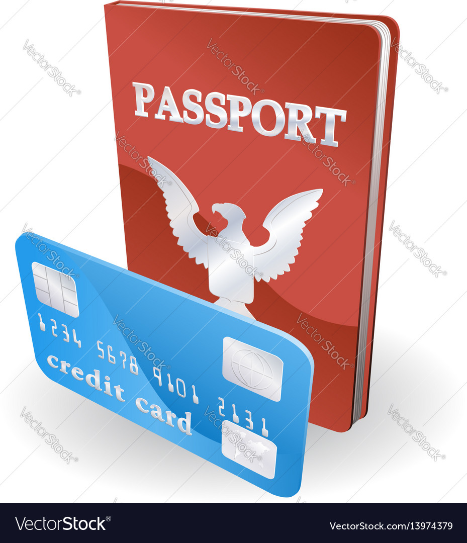Passport and credit card