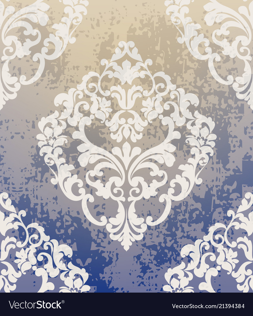 Baroque Classic Damask Pattern Ornament