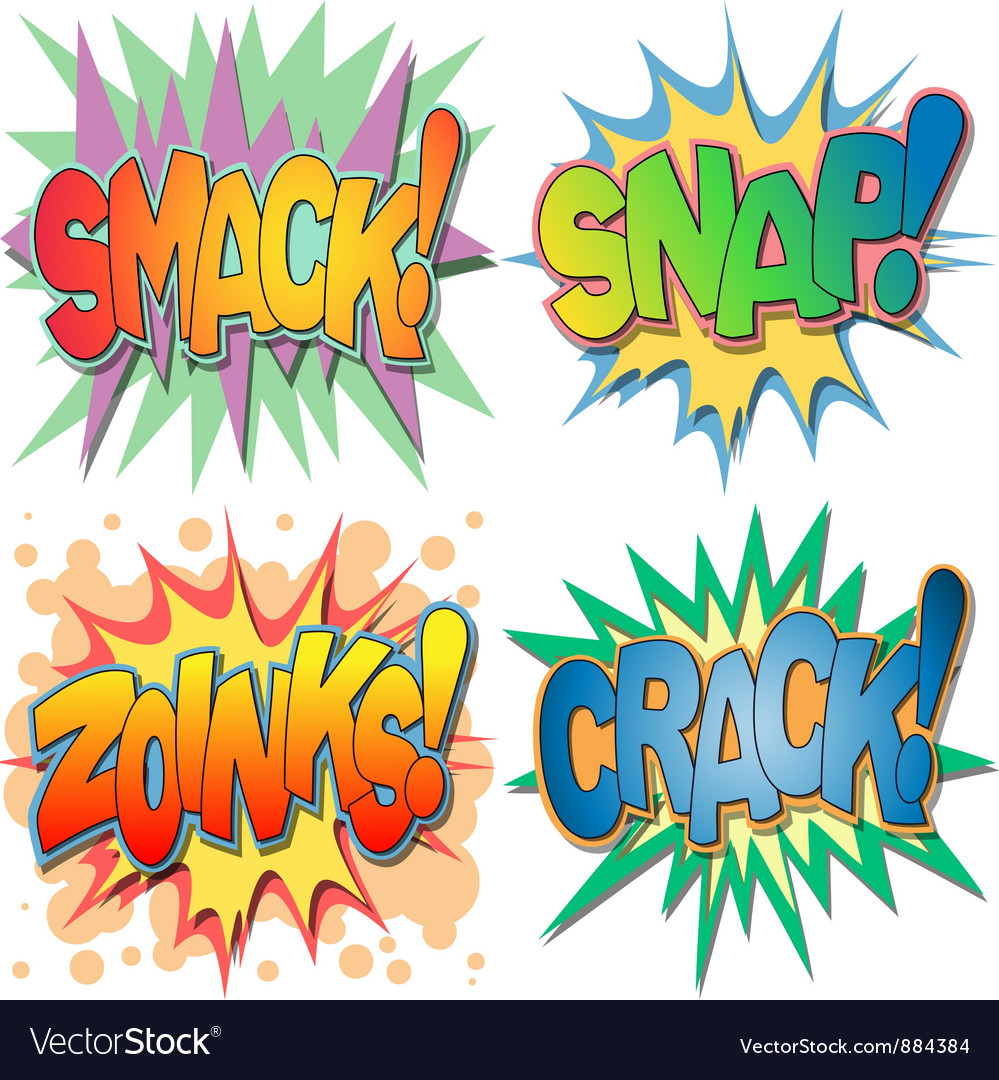 Comic Book Exclamations