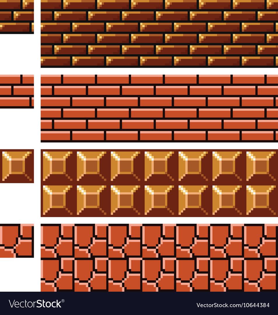 Texture For Platformers Pixel Art