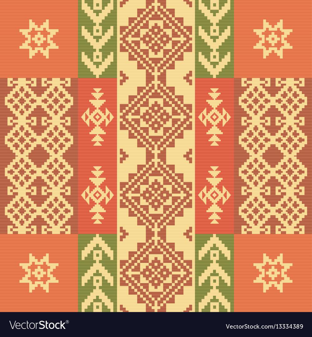 Ethnic geometric ornament