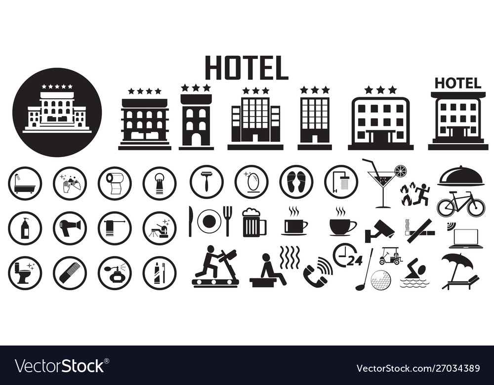Hotel bed room travel vacation service flat